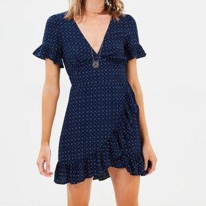 TIGERLILY  DRESS - INDIGO size US 4